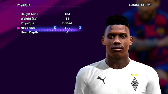 Breel Embolo Face For PES 2013
