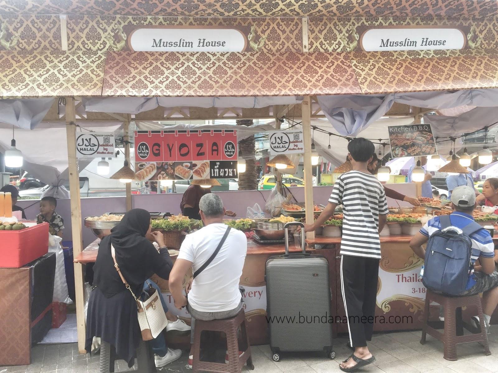 Restoran halal di Thailand, makanan halal yang ada di Bangkok, rekomendasi pilihan makanan halal di Bangkok, pengalaman mencari makanan halal di Bangkok