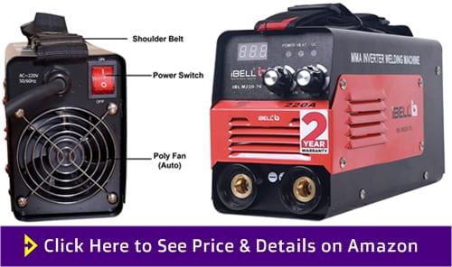 iBELL Portable Inverter ARC Welding Machine 220A