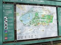 Ueno Park plan - Tokyo, Japan