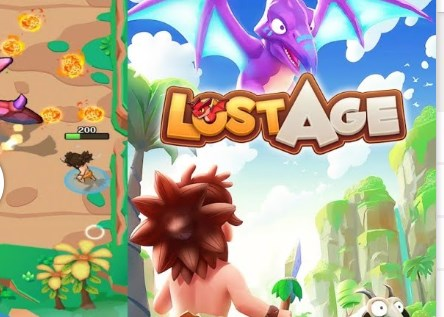 Lost age Apk+Data Free on Android Game Download