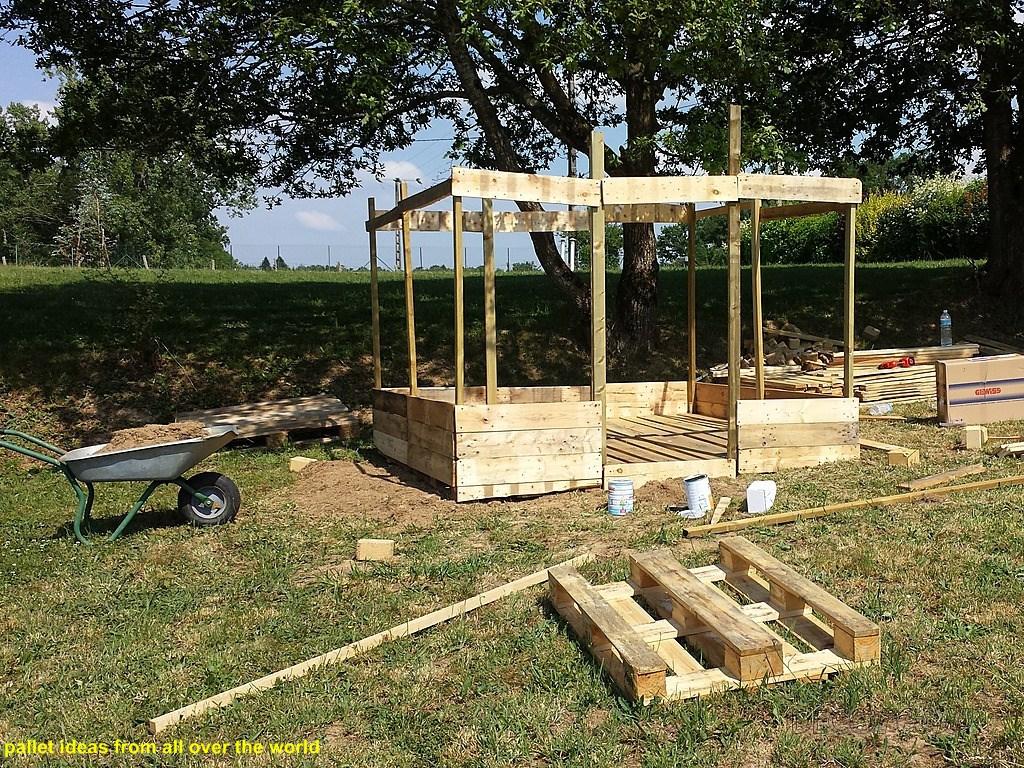 2fd1ae1bca31 Απλές κατασκευές από παλέτες   Simple Pallet Construction