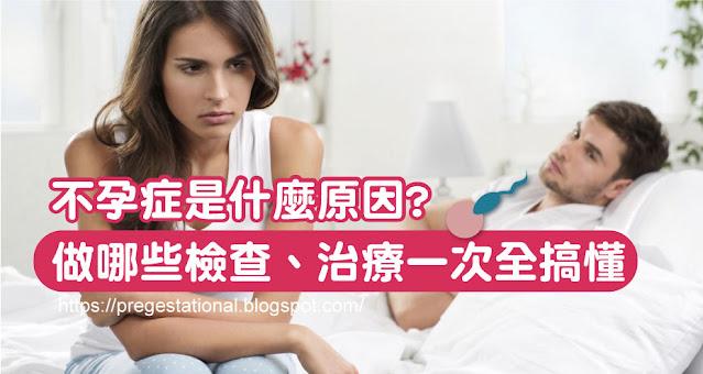 不孕症是什麼原因?需要做哪些檢查跟治療?一次全搞懂