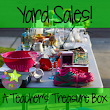 How to Yard Sale Like a Boss: A Teacher's Survival Guide