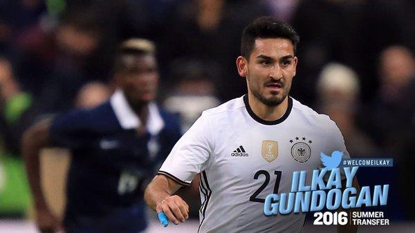 Ilkay Gundogan Akhirnya Resmi Bergabung Dengan Manchester City