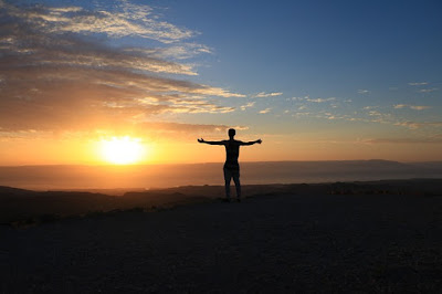 healthy lifestyle changes and sunrise