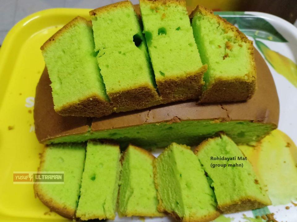 resepi kek pandan bakar resepi kek pandan kukus  sukatan cawan pawtaste   ambil Resepi Kek Span Pandan Guna Sukatan Cawan Enak dan Mudah