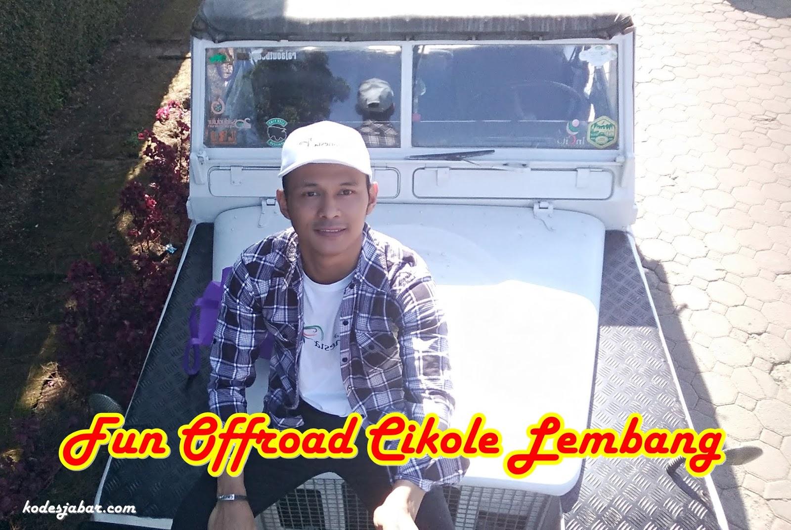 Persiapan offroad  Sukawana Lembang