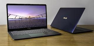 Asus Zenbook 3 Deluxe UX490UA Laptop (Intel Core i7-7500U) Drivers Download For Windows 10 (64bit)
