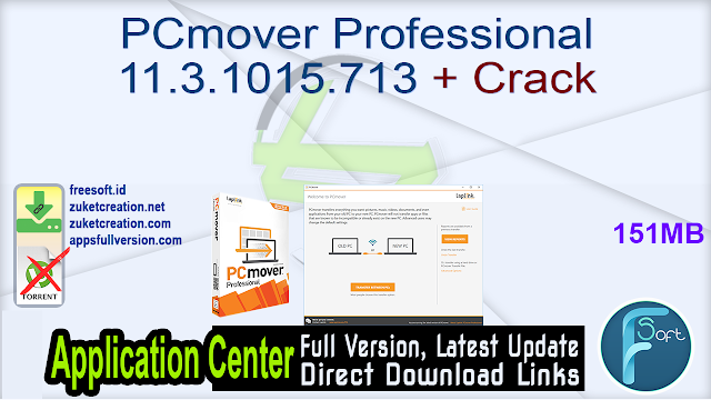 PCmover Professional 11.3.1015.713 + Crack