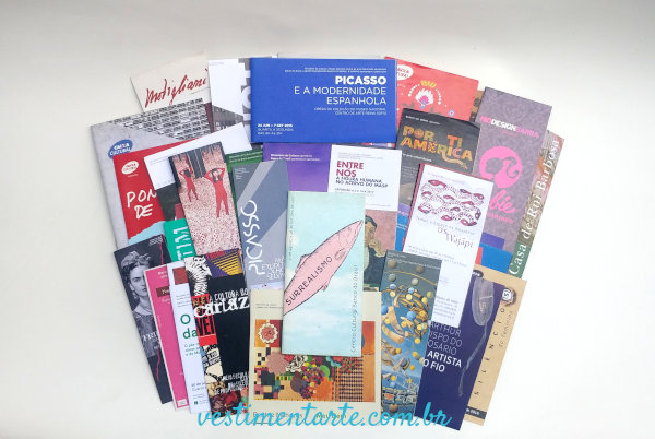Coleção Catálogos Exposições Arte