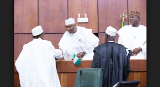 Sp. Saraki Secretly Send the Budget Back to Buhari Out of Fear