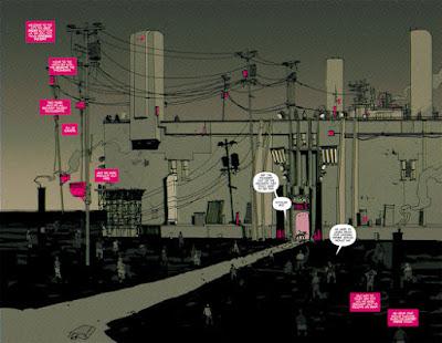 Cyberpunk Comic Series THUMBS - Sneak Peak