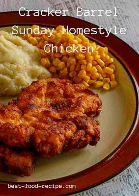 Cracker Barrel Sunday Homestyle Chicken