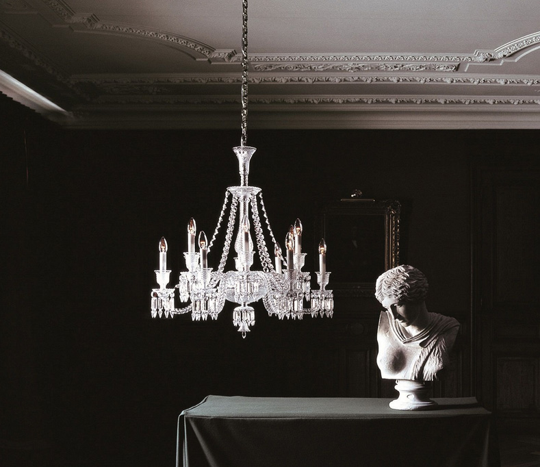 The Original Iconic Baccarat Zenith Crystal Chandelier