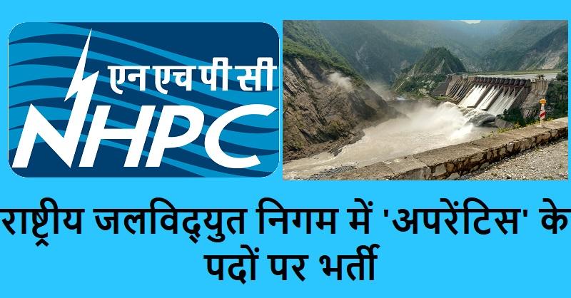 NHPC India jobs 2019