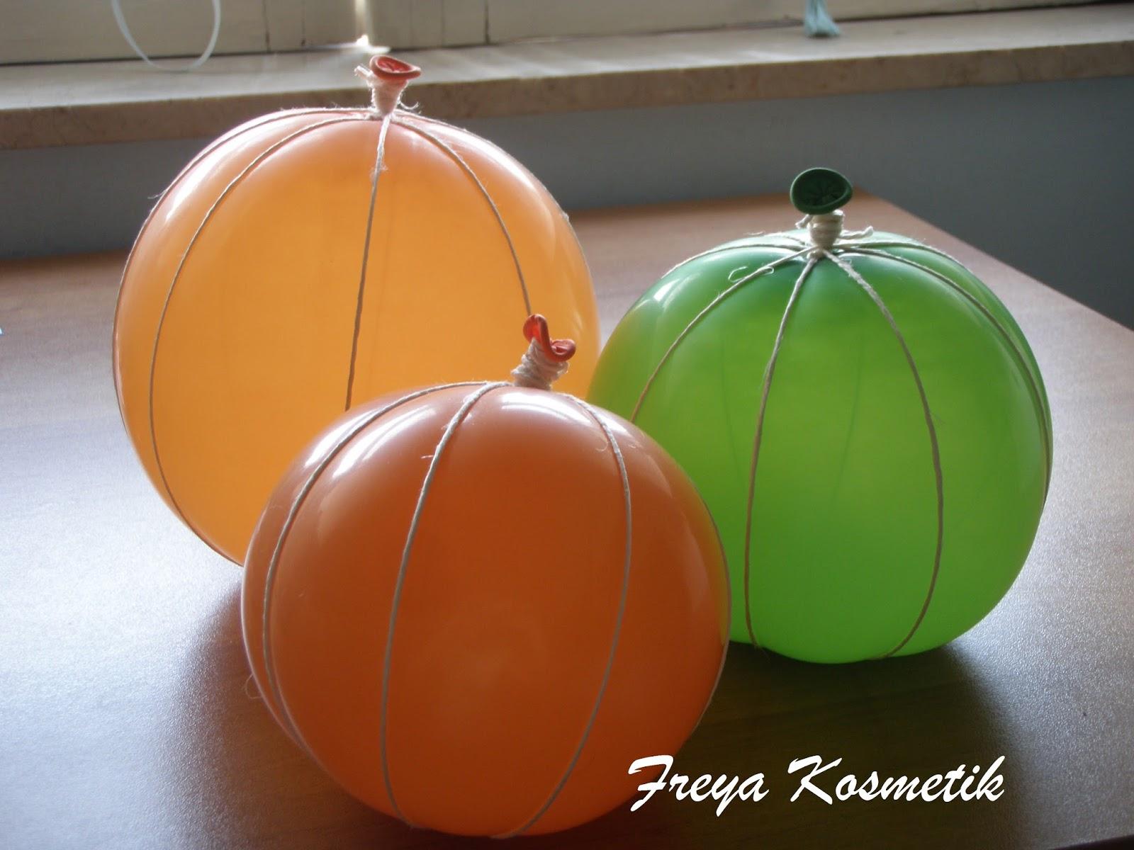 Zucca Halloween Cartapesta.Freya Kosmetik Zucchette Di Cartapesta