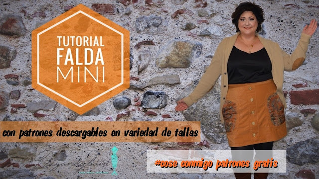 Tutorial falda mini con patrones