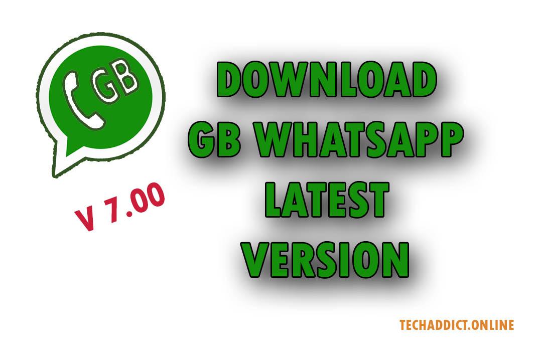 Download GB Whatsapp App Latest 2019 Version