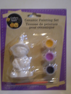 Crafter's Square Witch Ceramic Painting Set