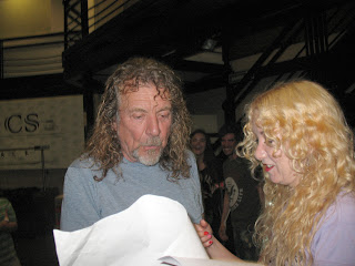 Robert Plant Roxy Indica meeting 2012