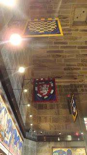 Zászlók a William Wallace kiállításon