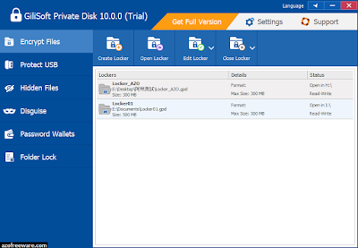 Gilisoft Private Disk