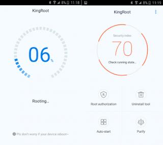 Cara menggunakan kingroot di android vivo v7 dan vivo v7+