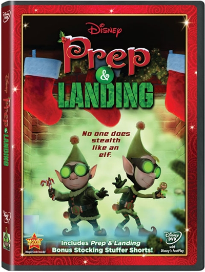 Prep y Landing Naughty vs Nice DVDR NTSC Español Latino Menu Full