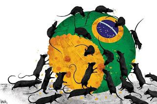 Resultado de imagem para Brasil destruido