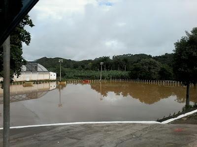 Nota da Defesa Civil de Eldorado-SP sobre a enchente do Rio Ribeira