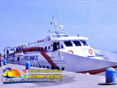 kapal cepat rute ke karimun jawa