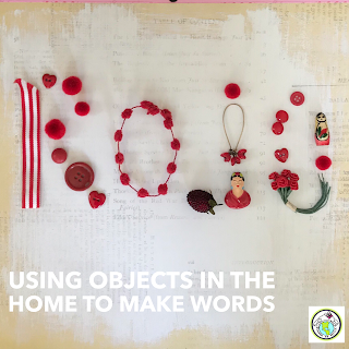 Using Objects at Home to Spell in the World Language
