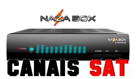 Nazabox S1010 Plus Nova Atualização V2.55 - 23/09/2019