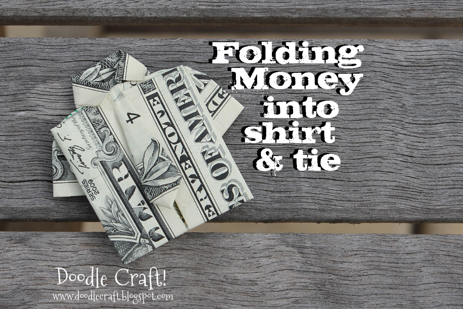 Origami Money Folding Shirt And Tie