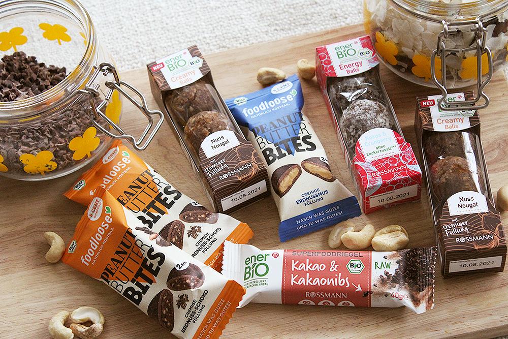 Gesunde Snacks für unterwegs