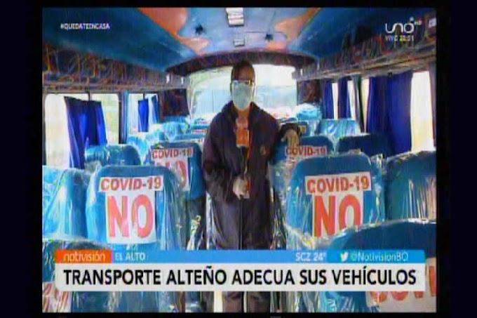 """Choferes de El Alto listos para descender a la """"hoyada"""" con pasajeros"""