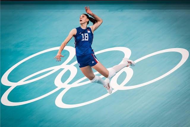 Bóng chuyền nữ Serbia giành huy chương Olympic thứ hai liên tiếp
