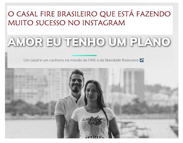 Entrevistamos o casal FIREE brasileiro que está fazendo muito sucesso no Instagram