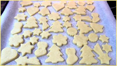 galletas de mantequilla receta de Navidad