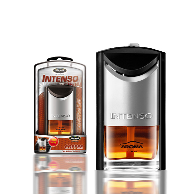 Nước hoa Kẹp cửa gió điều hòa Aroma Car Intenso Air Vent 7ml - Coffee