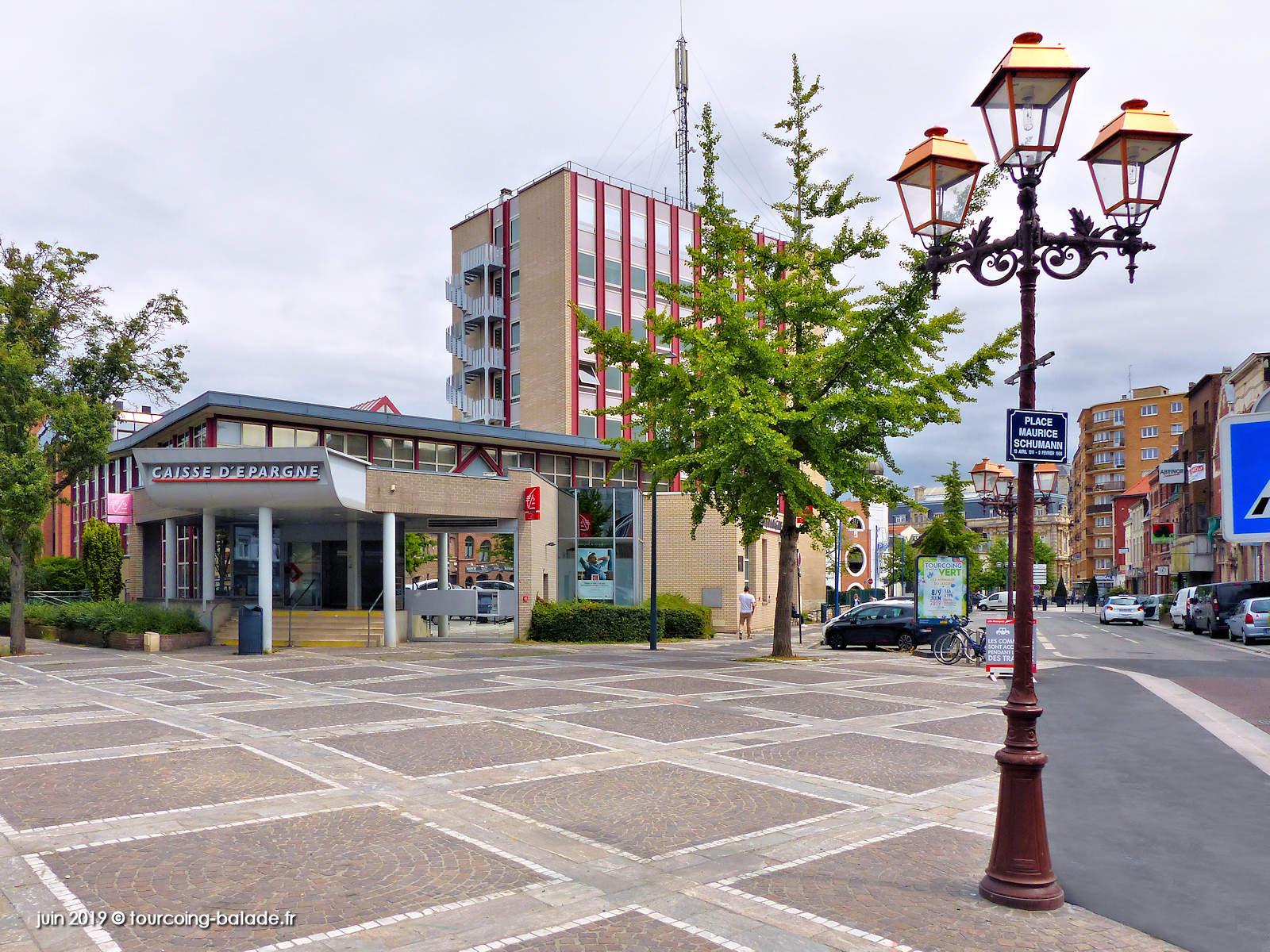 Place Maurice Schumann, Tourcoing