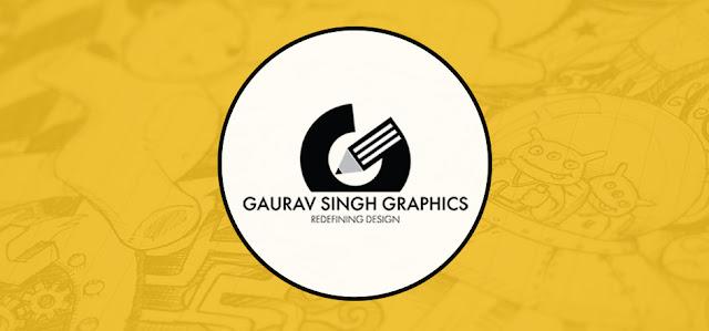 Launches New Graphic Designers Portfolio Website Gaurav Singh Graphics