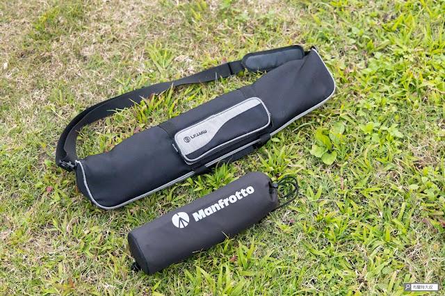 【攝影器材】Manfrotto Element 腳架,輕巧帶你走得更遠 - 對比 055 腳架收納長度