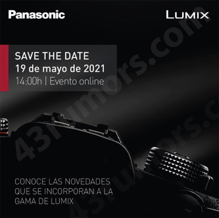 Рекламный баннер-тизер камеры Panasonic Lumix