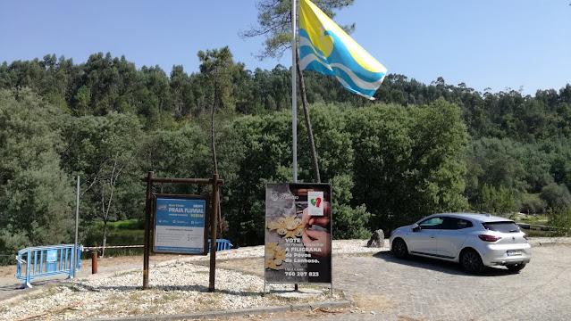 Bandeira Qualidade de Ouro Praia de Verim