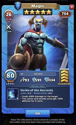 Original Magni Hero Card