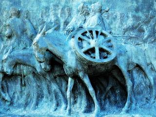 A Comitiva do Tropeiro Sosa - Monumento La Patria al Ejército de los Andes, Parque General San Martín, Mendoza