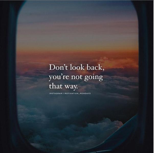 Jangan melihat ke belakang