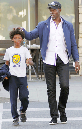 Look at how big Kimora Lee Simmons? son with Djimon ...